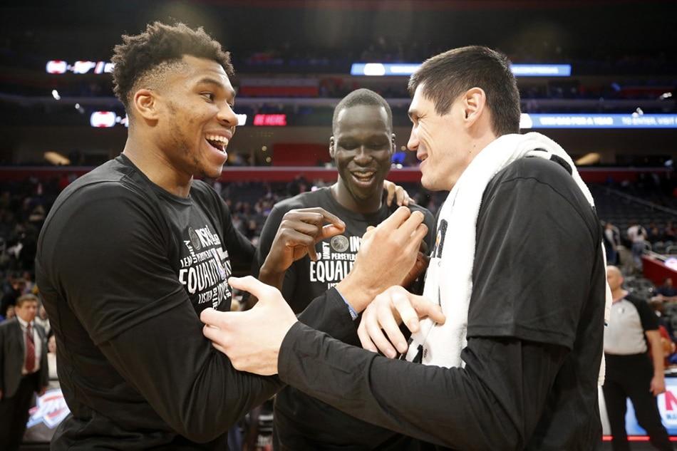 NBA: Antetokounmpo, Bucks maintain dominance over Pistons 1