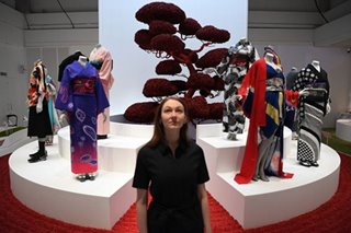 From samurais to Jedi knights, kimono stars in London show