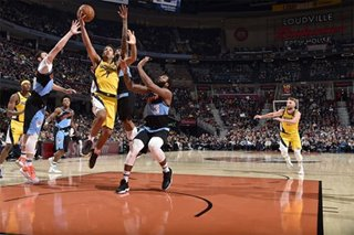NBA: Pacers pull away in fourth, defeat Cavaliers