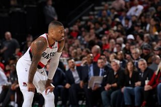 Portland's Lillard named MVP of NBA restart