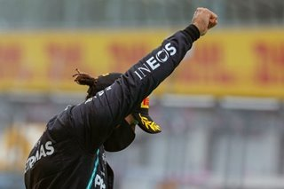 Formula One: Hamilton sweeps to record-breaking win in Spain