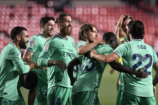 Football: Real Madrid one win from La Liga crown after beating Granada