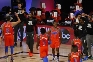 NBA: Thunder grind out win vs Harden, Rockets to level West series