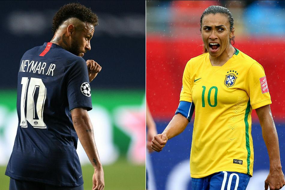 Football: Brazil announces equal pay on national football teams   ABS-CBN  News