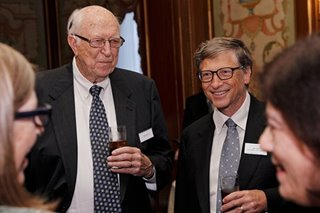Bill Gates Sr. who guided billionaire son's philanthropy dies at 94