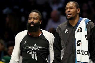 NBA: Nets' Durant wasting no time on Harden thoughts