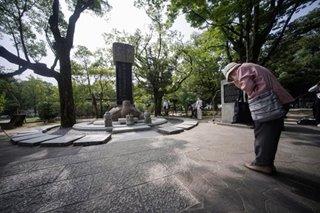 A prayer for Hiroshima victims and survivors