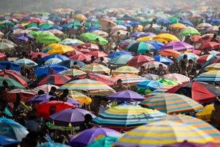 Brazilians pack Ipanema beach amid COVID-19 pandemic