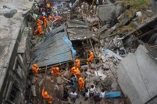 Mumbai building collapse kills 15