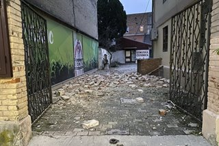 Six dead as strong quake strikes central Croatia