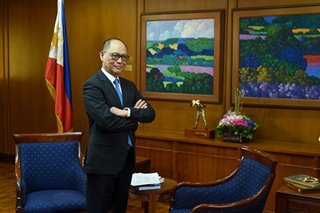 Bangko Sentral Governor Diokno to undergo test for COVID-19