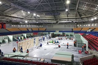 Razon construction arm helps convert Manila stadium into COVID-19 facility