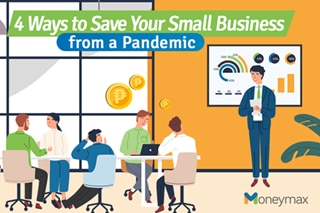 4 ways to save your small business from a pandemic