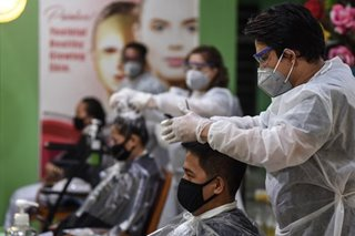 Gov't set to further ease quarantine restrictions on beauty salons, restaurants
