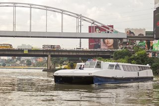 Pasig River Ferry service suspended due to 'Pepito'