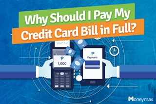 Why should I pay my credit card bill in full?