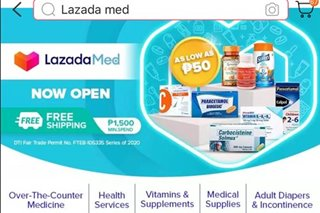 As pandemic persists, Lazada debuts one-stop-shop for medicine, health supplies