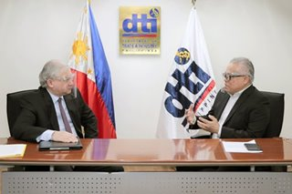 LOOK: Trade chief discusses with Russian envoy 'possibility' of vaccine production, distribution
