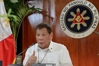 Duterte to agencies: Boost transparency in procurement process