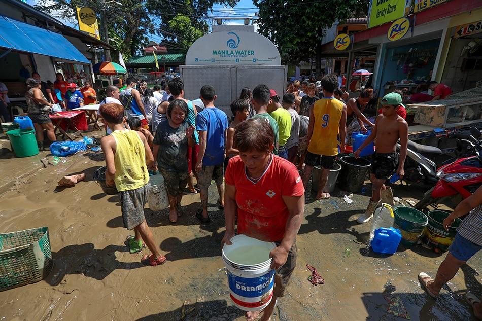 #WalangTubig: Ilang customers ng Manila Water sa Rizal, Nobyembre 23-24 1