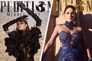 LOOK: Pia Wurtzbach appears on 9 covers of Dubai-based magazine