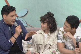 KZ, TJ Monterde ask Martin Nievera to be their ninong live on TV