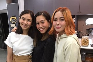 Sarah G, Rachelle Ann watch 'Write About Love' with Yeng