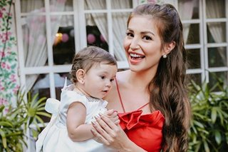 LOOK: Nathalie Hart's daughter gets baptized