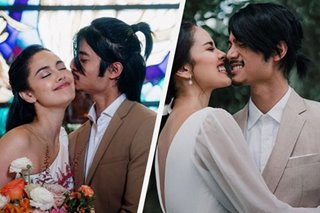 LOOK: Megan Young, Mikael Daez tie the knot after 9 years