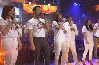 Kapamilya stars, El Gamma Penumbra nag-alay ng performance para sa Taal victims