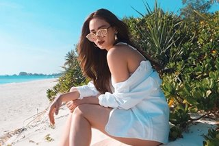 LOOK: Arci Munoz heats up Amanpulo