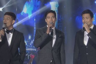 Piolo, Jericho, Sam make audience swoon with 'ASAP' number