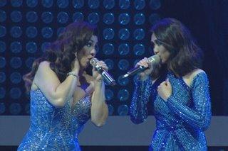 WATCH: Regine, Sarah in duets of 'Pagtingin,' 'Sino,' Tagu-taguan'