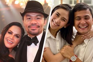 'Ganyan din kami ni Jinkee noon': Manny Pacquiao gives Matteo tips on marriage