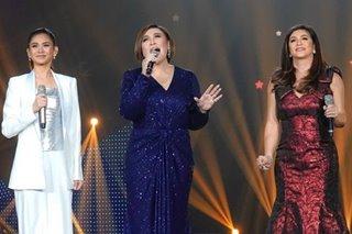 Music icons Sharon, Regine, Sarah back ABS-CBN amid forced shutdown