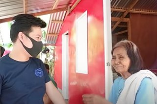 WATCH: Marcelito Pomoy builds new home for old woman