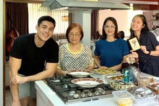LOOK: Kim Chiu attends birthday celebration of Xian Lim's mom