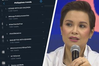 Why 'I stand with Lea Salonga' became No. 1 trend on Twitter