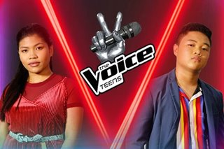 'Voice Teens 2': Team Sarah's Eunice, Yohann wow with 'Shallow'