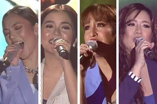 Jona, Juris, Jolina, Angeline sing hits of 90s iconic boy bands