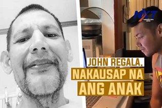 John Regala, nakausap na ang anak