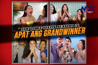 The Voice Teens Season 2, apat ang grand winner