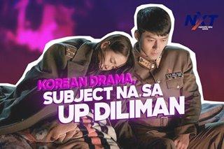 Korean Drama, subject na sa UP Diliman