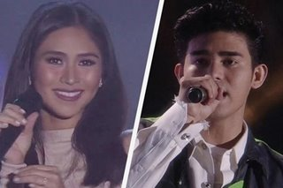 WATCH: Sarah G, Inigo Pascual perform rendition of 'Stuck With U'