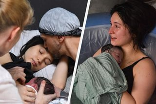 LOOK: Coleen Garcia, Billy Crawford welcome first baby via home birth