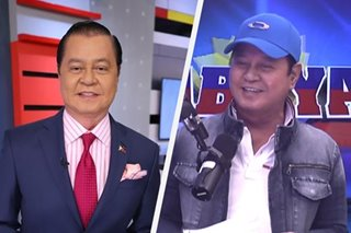 WATCH: Noli de Castro confirms he will stay with ABS-CBN: 'Ako po'y tunay na Kapamilya forever'