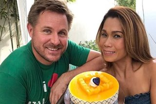 Pokwang shares birthday message for boyfriend Lee O'Brian