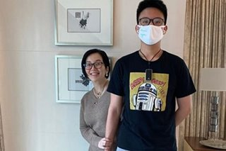 LOOK: Bimby, 13, is now 6 feet tall and still growing, says mom Kris Aquino