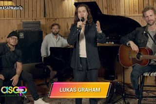 Lukas Graham performs new song 'Share That Love' on 'ASAP'