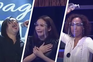 'Ang lala!' Not even done with performance, Tawag bet gets standing ovation from judges